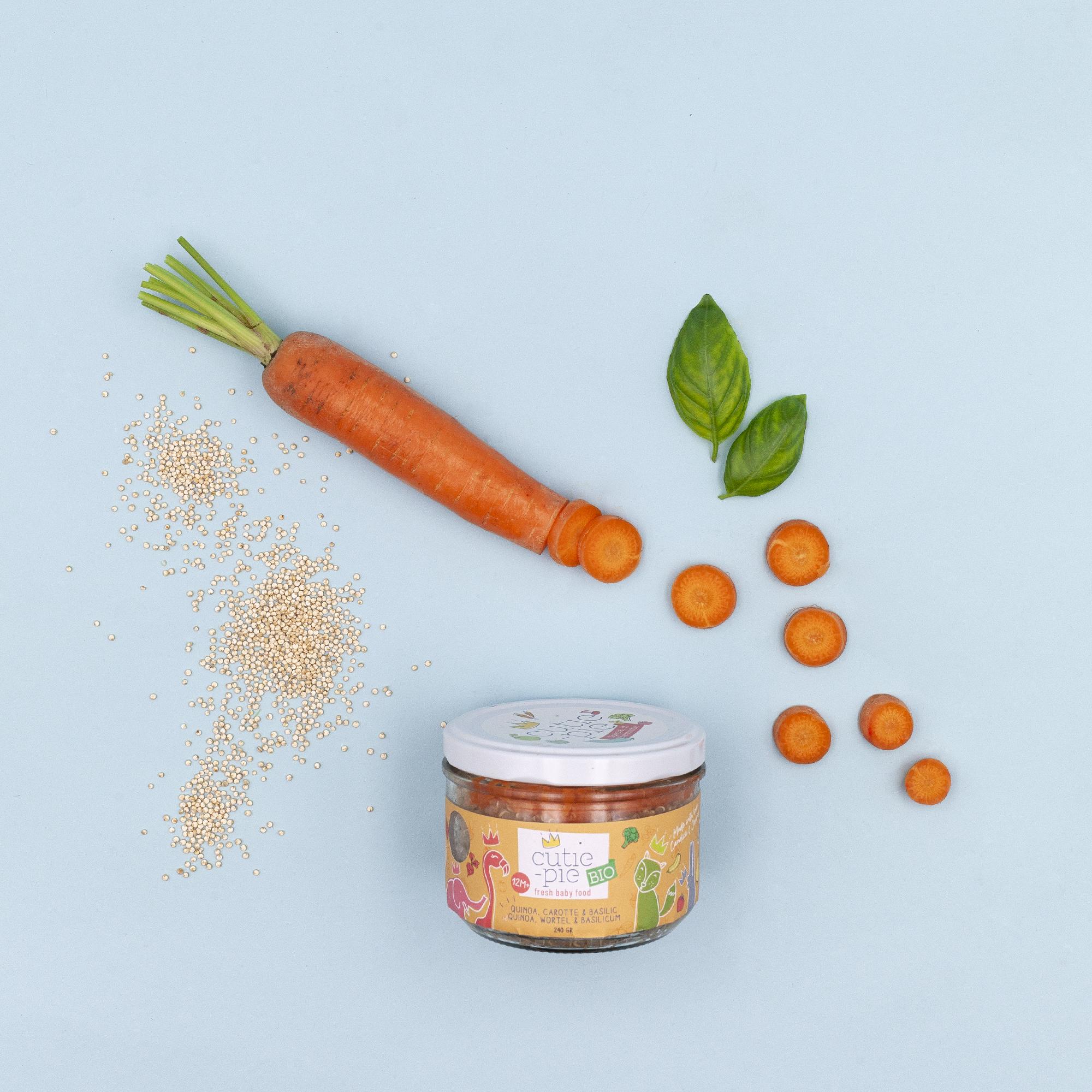 Quinoa - Carotte - Basilic