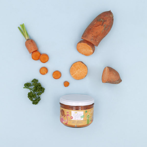 Patate Douce - Carotte - Persil