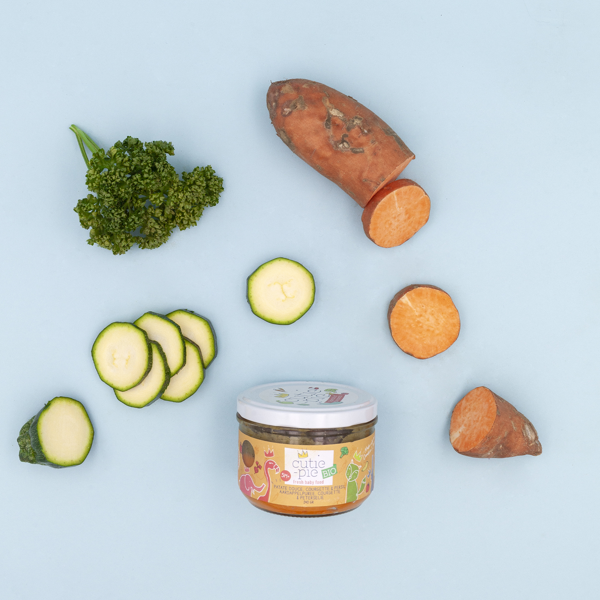 Patate Douce - Courgette - Persil