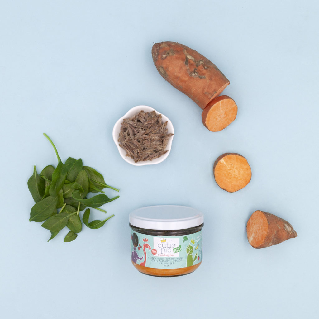 Patate Douce - Epinard - Boeuf