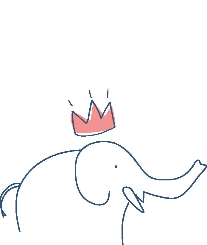 Cutie Pie - Livraison de petits pots frais pour bébés - Nono l'éléphant de 12 à 15 mois